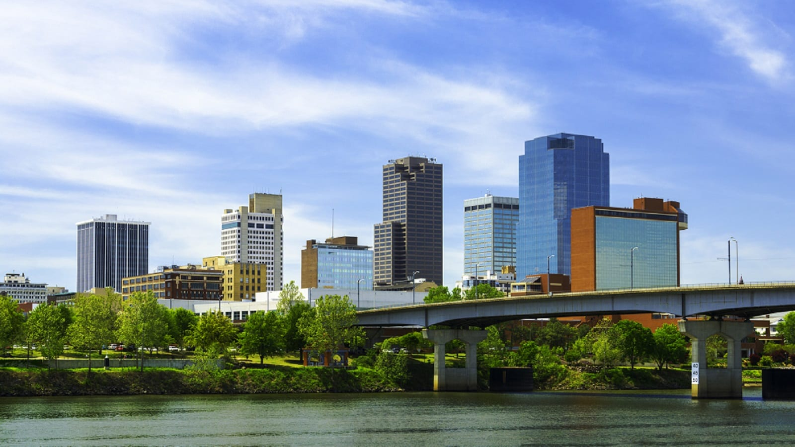 Little Rock, Arkansas Skyline