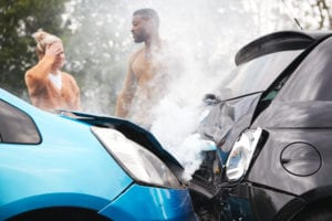 two-motorists-in-car-accident